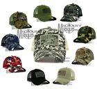 Внешний вид - USA American Flag hat cap Mesh Tactical Operator Military Snapback Baseball