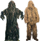 Camouflage Lightweight All Purpose Full Ghillie Suit Complete Kit