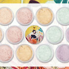 15g Pro Long-Lasting Face Loose Powder Oil Control Concealer with Puff Flowery