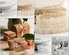 Vintage Style Lace Ribbon Various Style Trimming Bridal Wedding Craft 10m reel
