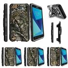 For Samsung Galaxy On7 | J7 Prime | J7 Halo (2017) Clip Holster Case Tree Camo