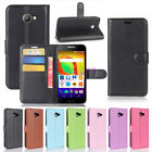 Flip Magnetic Card Wallet PU Leather Case Stand Phone Cover For Alcatel A30