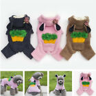 Puppy Small Dog Cat Cute Rabbit Carrot Coat Warm Winter Cosplay Casual Clothes