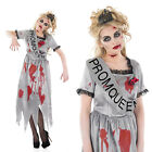 Ladies Zombie Prom Queen Fancy Dress Costume Halloween Party Outfit UK 8-30