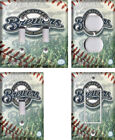 MLB Milwaukee Brewers - Light Switch Covers Home Decor Outlet on Ebay