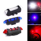 5 LED USB Chargeable Bicycle Bike Rear Back Tail Flashing Light Warning
