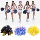 Pom Poms Handheld Cheerleader Cheerleading Cheer Dance Party Football Club Decor