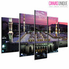 PC416 Mecca Madina Holy Land  Scenic Multi Frame Canvas Wall Art Print