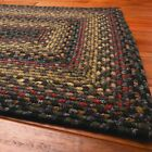Traditional Country Cotton Braided Area Rugs Oval Rectangle 20x30-8x10 Enigma