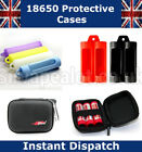 Protective Cases and Covers for 18650 Batteries Battery case UK fast dispatch