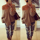 Women Long Sleeve Oversized Loose Knitted Sweater Jumper Cardigan Outwear Coat