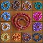 """VD1165-1177 6mm Wholesale Fire Agate Ball Loose Beads 15"""""""