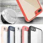 Super-Slim Crystal Clear TPU Bumper Back Case Cover For iPhone Series