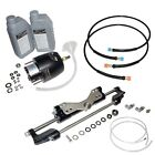 Hydraulic Steering System For Outboard Engines up to 350hp!!  Including HOSES!!