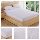 Waterproof King Queen Full Size Fitted Mattress Pad Deep Protector Bed Cover image