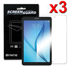 3x Clear Screen Protector for Samsung Galaxy Tab E 9.6 / 8.0 / E Lite 7.0 Tablet