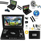 "9.8"" Tablet Style Portable DVD Player with Rechargeable Battery AV in /out TV FM"