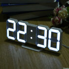 Vogue LED Digital Alarm Clocks Snooze Function Night Mode Automatic Dimming VY