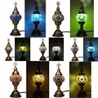 New Turkish Moroccan Ottoman Handmade Tiffany Colourful Mosaic Table Desk Lamp