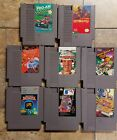 Nintendo NES Games - Pick a Title - Cleaned and Tested - Fast Shipping
