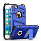 Fits Apple iPhone Military Grade Kickstand Rugged Armor Protective Case Cover