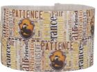 "Harry Potter Hufflepuff 1"" Repeat Ribbon Sold By The Yard - USA Seller"