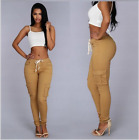 Hot Women Skinny High Waist New Stretchy Pencil Pants Trousers Denim Leggings