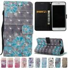Stand Holder Diamond Flip PU Leather Wallet Card Case Cover For iPhone 7 8 Plus