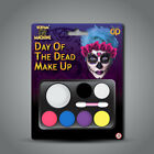 Halloween Makeup Sets - Day of the Dead Skeleton Zombie Witch Make Up Pallet