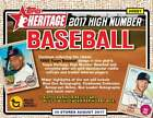 2017 Topps Heritage High Number HHN - Complete Your Set - Pick Your Player