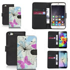 pu leather wallet case for iphone 6s ecstatic motif