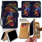 Leather Wallet Stand Magnetic Flip Case Cover For Various HTC SmartPhones