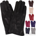 Ladies / Womens Butter Soft Premium Leather Gloves