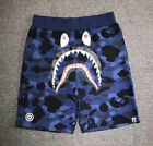 Men's Japan Bape Shark Jaw Stretchy Casual Shorts A Bathing Aape Pansts 7 Style