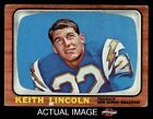 #127 Keith Lincoln Chargers VG $5.25 USD