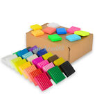 Внешний вид - 1/24/36Pcs Soft Polymer Plasticine Fimo Effect Clay Block Educational DIY Craft