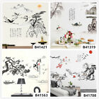 Landscape Painting Home Room Decor Removable Wall Stickers Decals Decorations