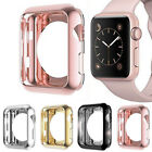 For Apple Watch Series 2/1 TPU Bumper iWatch Screen Protector Case Cover 38/42mm