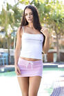 Wicked Weasel Sexy 507 Hot Skirt Baby Pink