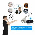 Anti-Lost Wireless Whistle Voice Control Car Keychains Key Finder Alarm w/ LED