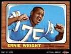 1966 Topps #131 Ernie Wright Chargers VG $6.25 USD on eBay