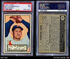 1952 Topps #43 Ray Scarborough -  Red Sox PSA 7 - NM