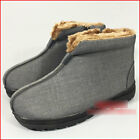 Shaolin kung fu Monk Taoist shoes Martial Arts Tai chi boots fleece thick soles