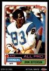 1981 Topps #190 John Jefferson Chargers NM/MT $2.8 USD on eBay