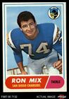 1968 Topps #89 Ron Mix Chargers NM $16.0 USD on eBay