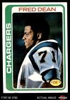 1978 Topps #217 Fred Dean Chargers EX $3.5 USD on eBay
