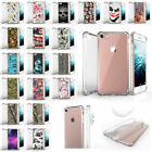 "For Apple iPhone 8 Plus (5.5"") Durable Fitted Clear TPU Case - Unique Designs"