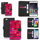 black pu leather wallet case cover for many Mobile phones - design ref zx1527