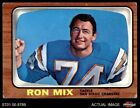 1966 Topps #128 Ron Mix Chargers VG/EX $8.75 USD on eBay