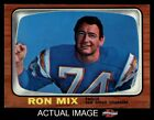 1966 Topps #128 Ron Mix Chargers NM $23.0 USD on eBay